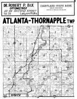 Atlanta Township, Thornapple Township, Bruce - North, Rusk County 1954