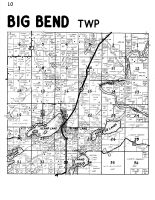 Big Bend Township, Island Lake, Rusk County 1954