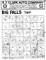 Big Falls Township, Rusk County 1954