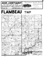 Flambeau Township, Ladysmith - North, Rusk County 1954