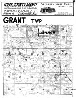 Grant Township, Ladysmith - South, Rusk County 1954