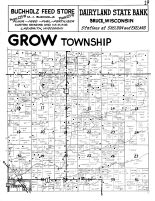 Grow Township, Conrath - North, Rusk County 1954