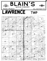 Lawrence Township, Rusk County 1954