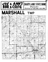 Marshall Township, Sheldon, Rusk County 1954