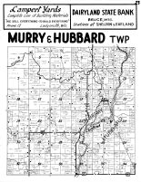 Murray Township, Murray, Hubbard Township, Rusk County 1954