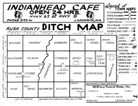 Rusk County Ditch Map - Legend, Rusk County 1954