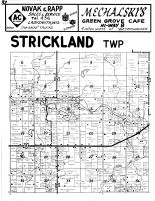 Strickland Township, Rusk County 1954