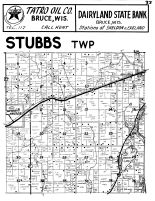 Stubbs Township, Weyer-Hauser, Appolonia, Rusk County 1954