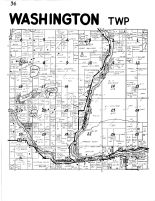 Washington Township, Chippewa River, Flambeau River, Rusk County 1954