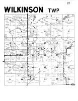 Wilkinson Township, Rusk County 1954