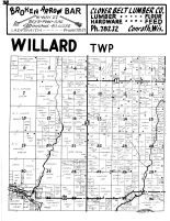 Willard Township, Rusk County 1954