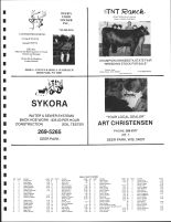 Cylon Township Owners Directory, St. Croix County 1987