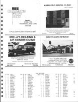 Hammond Township Owners Directory, St. Croix County 1987