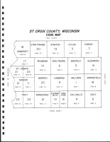 St. Croix County Code Map, St. Croix County 1987