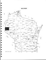 Wisconsin State Map, St. Croix County 1987