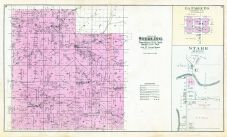 Sterling Township, Fargo P.O., Retreat, Purdy, Bristow, West Prairie, La Farge, Starr, Vernon County 1896