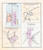 Stoddard, Coon Valley P.O., Bloomingdale, Newton, Vernon County 1896