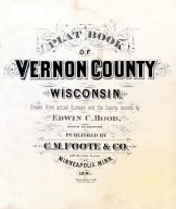 Title Page, Vernon County 1896