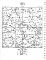 Liberty and Kidkapoo Townships - Northeast, Viola, Vernon County 1967