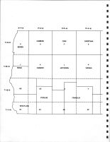 Vernon County - West Code Map, Vernon County 1967