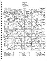 Viroqua Township - South, Franklin Township - Northeast, Kickapoo Township - Northwest, Vernon County 1967
