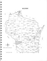Wisconsin State Map, Vernon County 1967