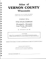 Title Page, Vernon County 1983