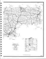 Vernon County - East Highway Map, Vernon County 1983
