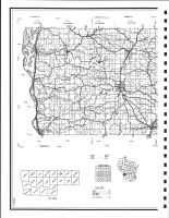 Vernon County - West Highway Map, Vernon County 1983