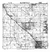 Bloomfield Township, Pell Lake, Walworth County 1961
