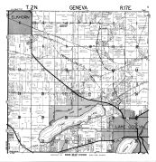 Geneva Township, Elk Horn, Como Lake, Walworth County 1961