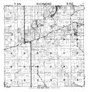 Richmond Township, Lake Lorraine, Walworth County 1961