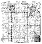 Sugar Creek Township, North Lake, Walworth County 1961