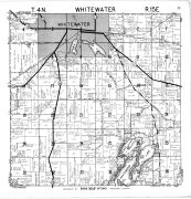 Whitewater Township, Walworth County 1961