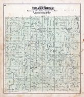 Bear Creek Township, Nicholson P.O., Waupaca County 1889