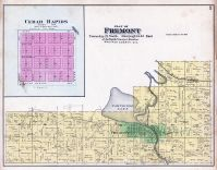 Fremont Township, Partridge Lake, Cedar Rapids, Waupaca County 1889
