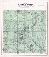 Little Wolf Township, Manawa, Bear Lake, Storm Lake, Waupaca County 1889