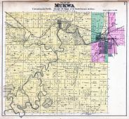 Mukwa Township, North Port, New Longon, Cincoe Lake, Partridge Crop, wolf River, Ostrander, Waupaca County 1889