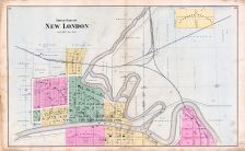 New London - North, Waupaca County 1889