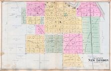 New London - South, Waupaca County 1889