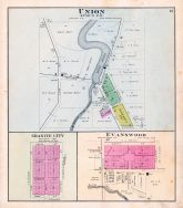 Union, Granite City, Evanswood, Waupaca County 1889