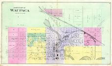 Waupaca - North, Waupaca County 1889