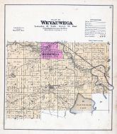 Weyauwega Township, Evanswood, Partridge Lake, Wolf River, Waupaca County 1889