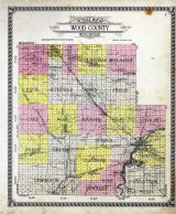 Wood County Map, Wood County 1928