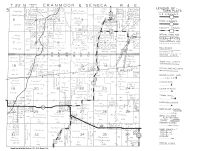 Cranmoor and Seneca Township, Elm Lake, Wood County 1948