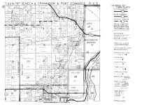 Senaca, Cranmoor and Port Edwards Townships, Wisconsin Rapids - West, Wood County 1948