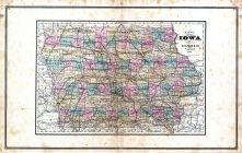 Iowa, United States 1885 Atlas of Central and Midwestern States