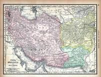 Persia, Afghanistan and Baluchistan, World Atlas 1890