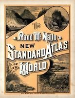 Title Page, World Atlas 1890