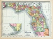 Map Of Panhandle Of Florida.Florida Antique Maps And Historical Atlases Historic Map Works